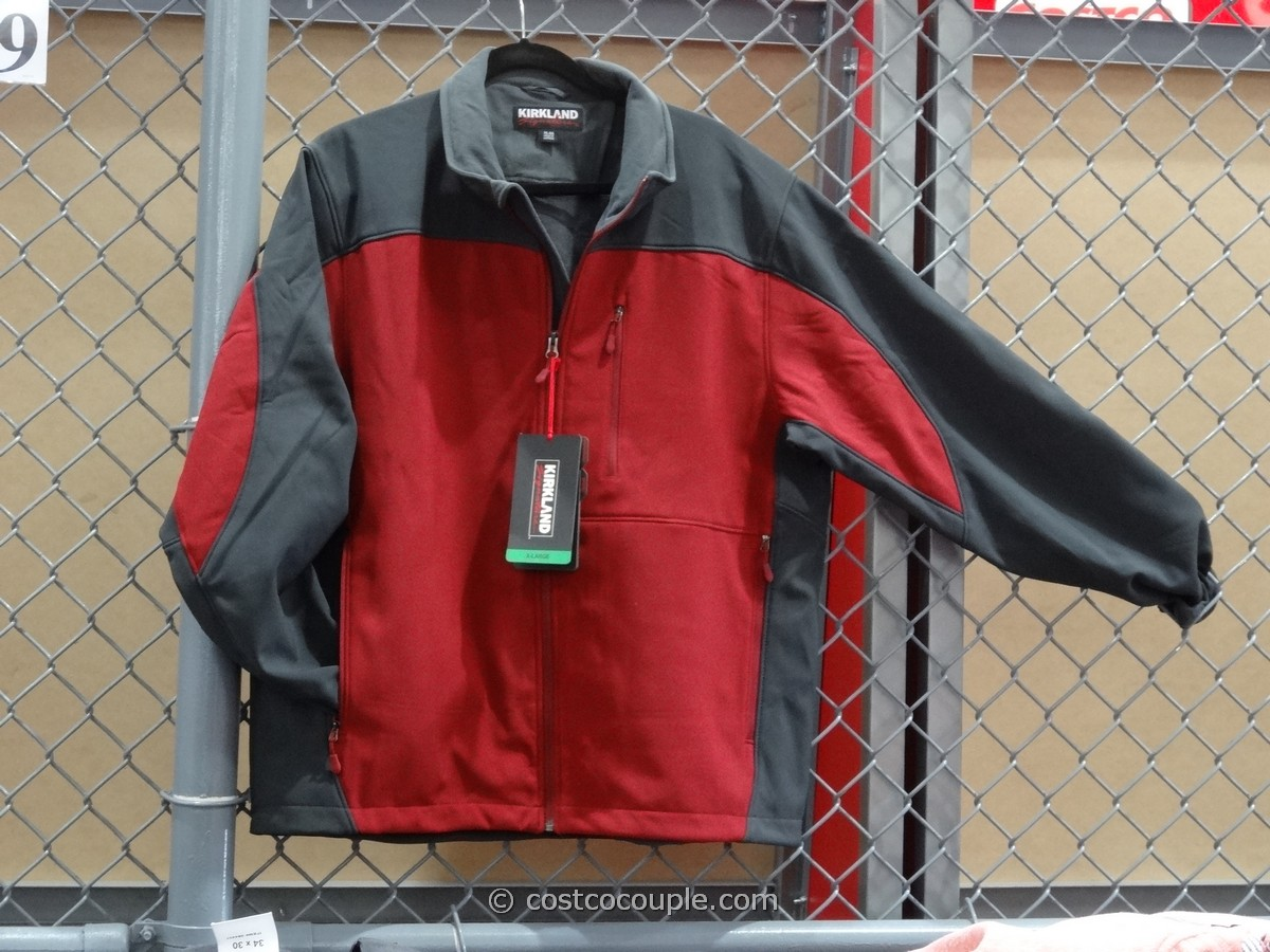 Kirkland Signature Men's Softshell Jacket Costco 1
