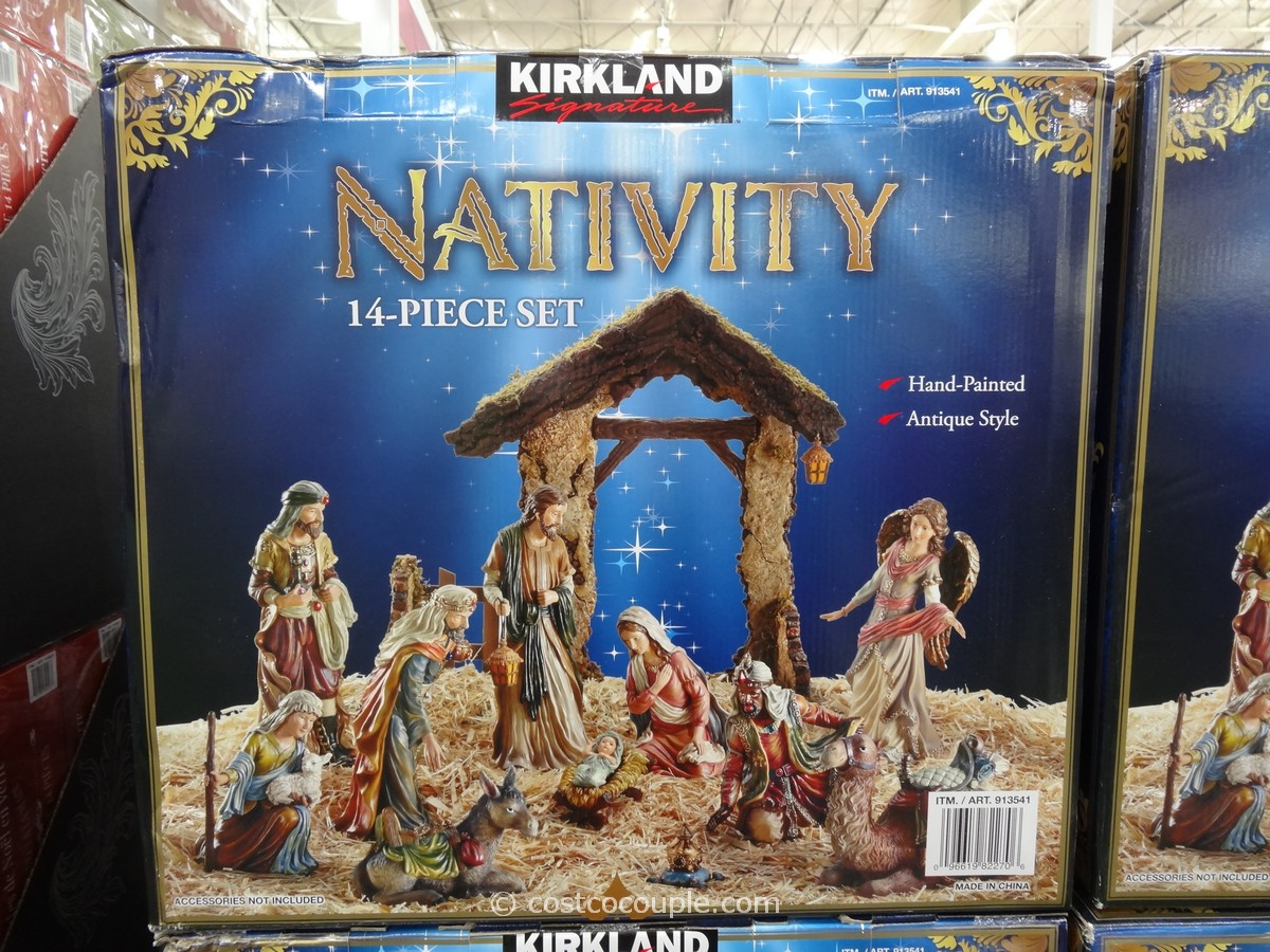 Kirkland Signature Nativity Set Costco 1