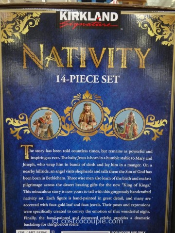 Kirkland Signature Nativity Set Costco 2