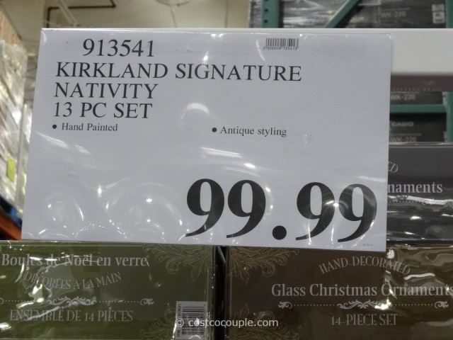 Kirkland Signature Nativity Set Costco 3