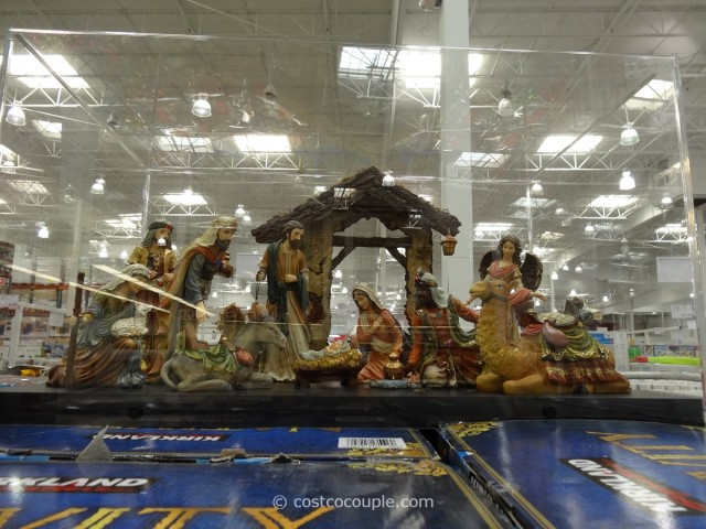 Kirkland Signature Nativity Set Costco 4