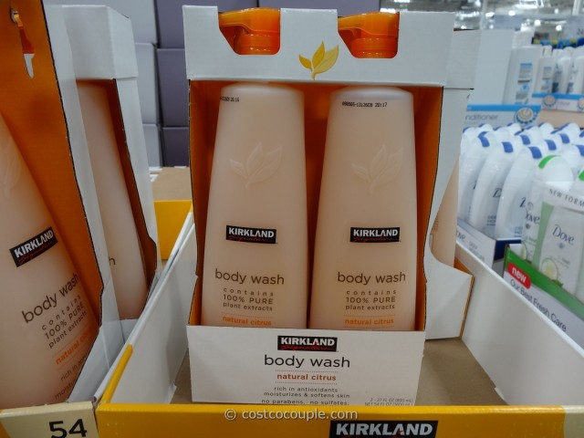 Kirkland Signature Natural Citrus Body Wash Costco 1