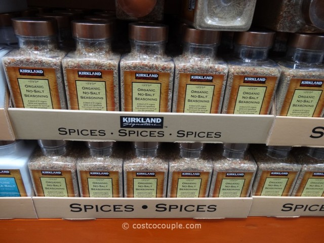 Kirkland Signature Organic No-Salt Seasoning Costco