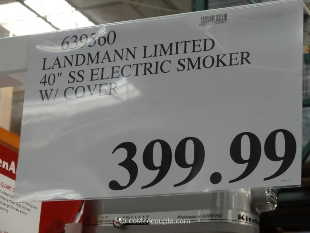 Landmann Limited 40-Inch Electric Smoker Costco 3