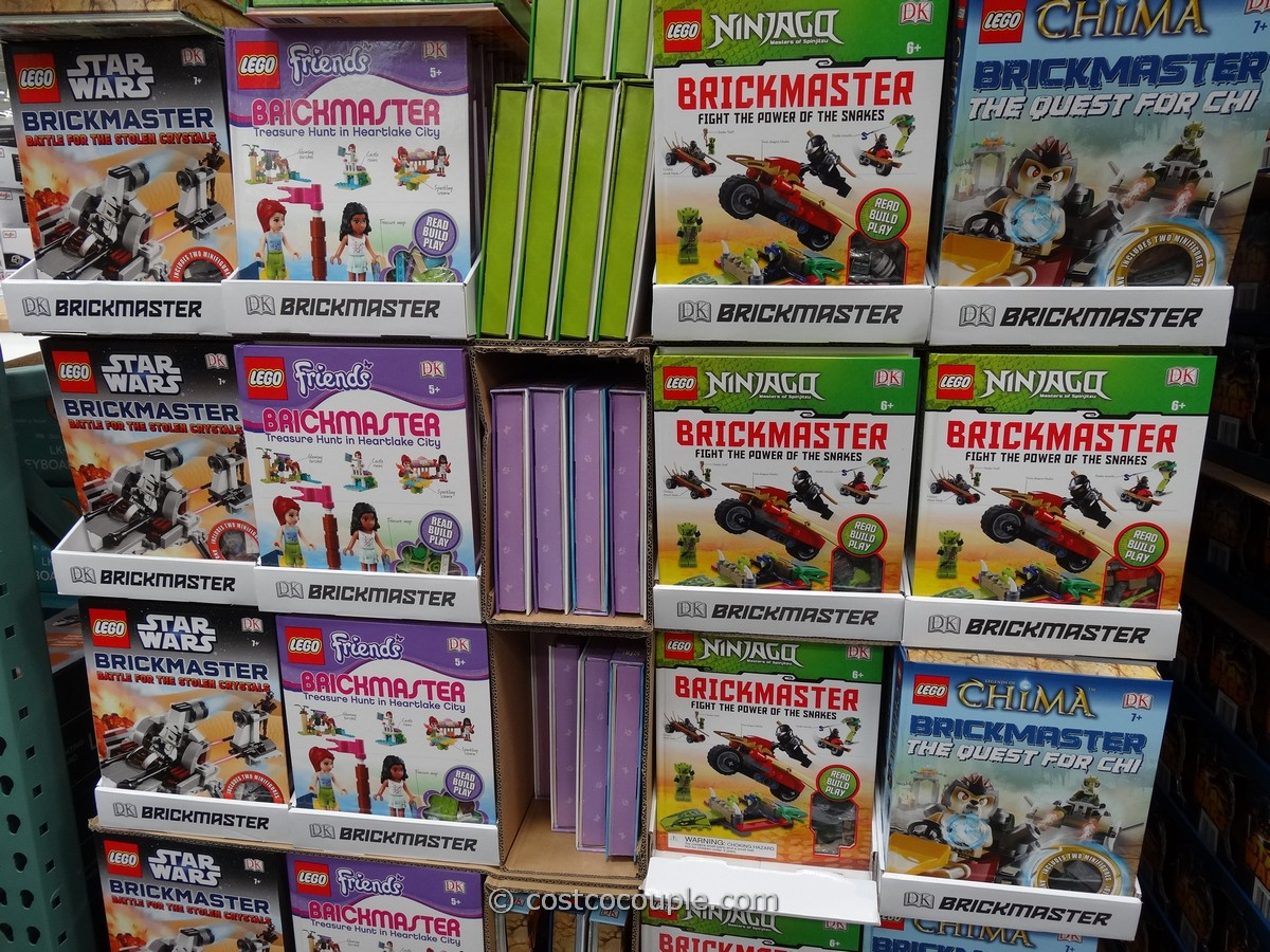 Lego Brickmaster Building Bricks and Book Costco 1