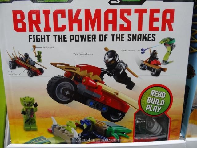 Lego Brickmaster Building Bricks and Book Costco 5