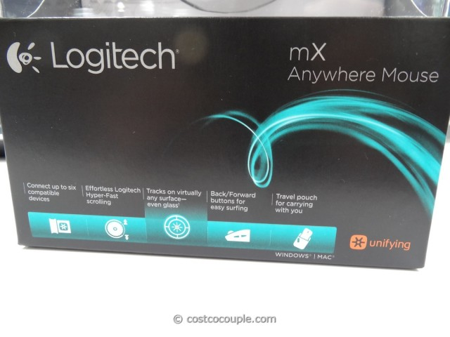 Logitech Anywhere Wireless Mouse MX Costco 4