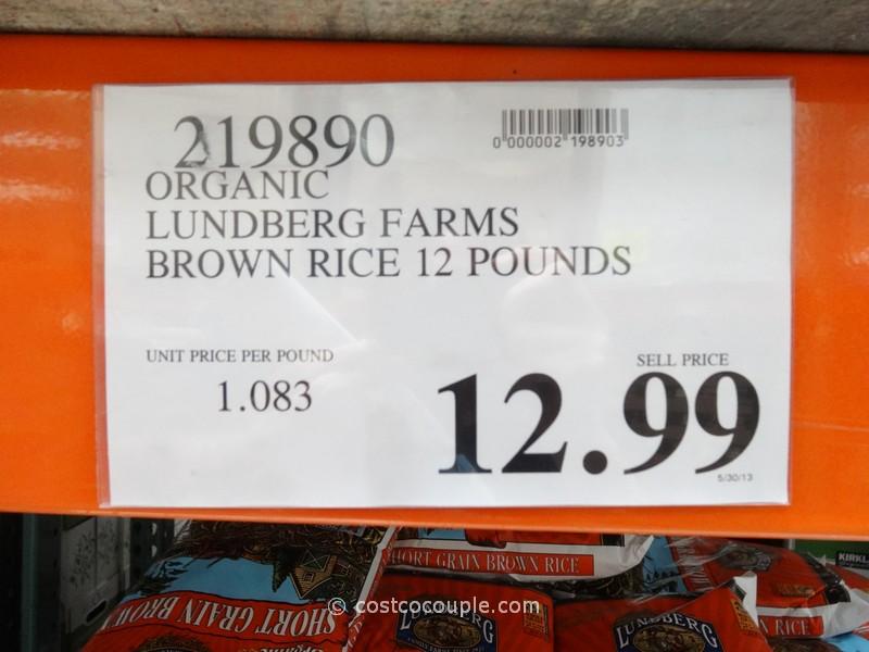 Lundberg Farms Organic Short Grain Brown Rice Costco Vs