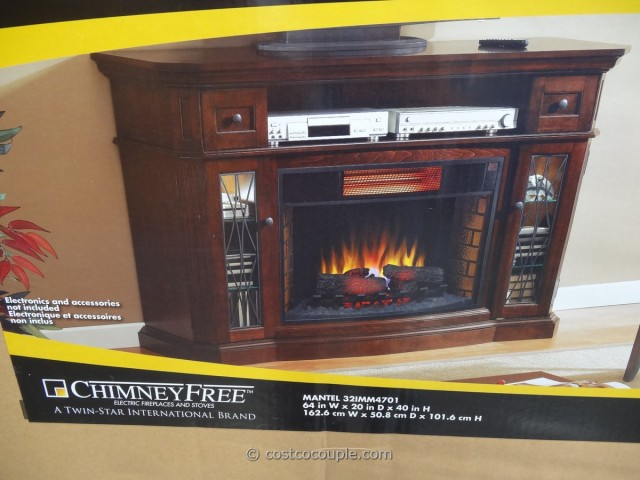 Media Console Infrared Fireplace Costco 5
