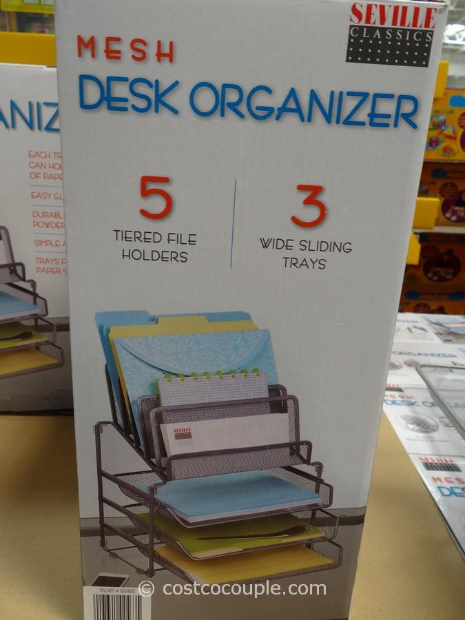 Seville Mesh Desk Organizer