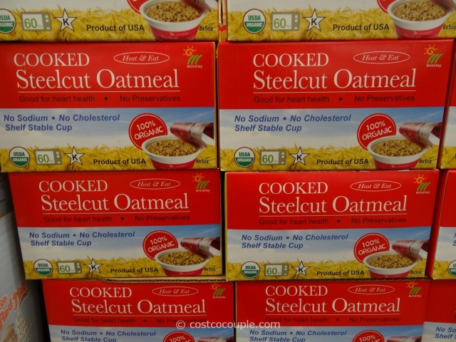 Minsley Organic Steel Cut Oats Costco 1