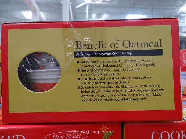 Minsley Organic Steel Cut Oats Costco 2