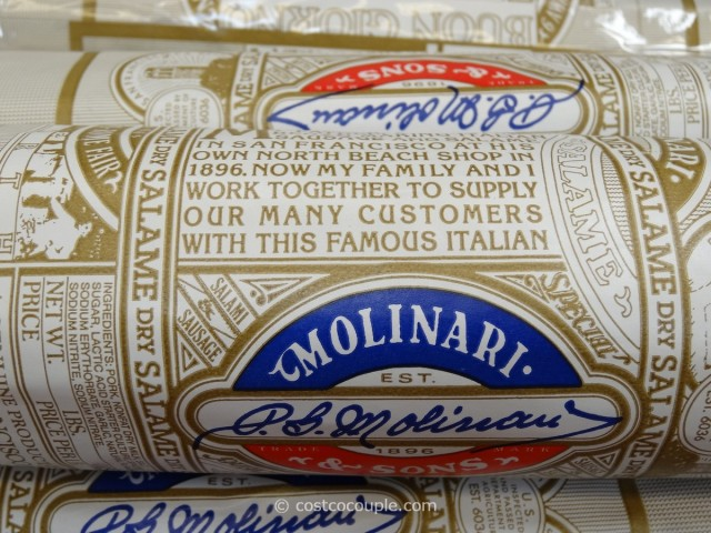 Molinari Dry Salame Costco 2