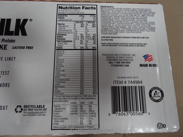 Muscle Milk Costco 6