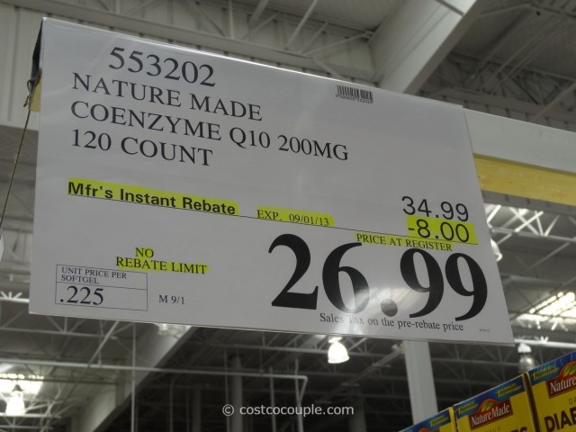 Naturemade CoQ10 Costco 3