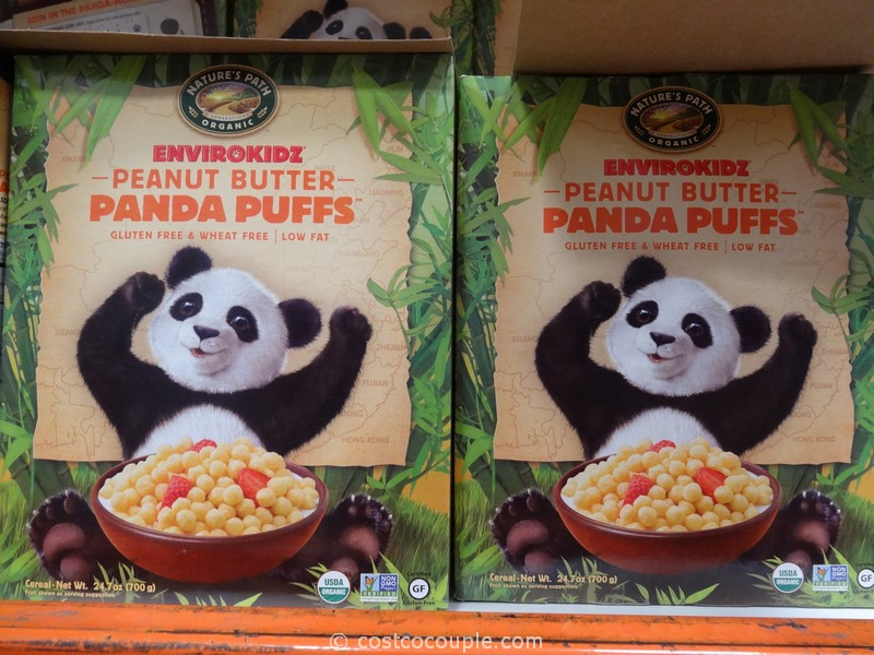 Nature's Path Organic Panda Puffs Cereal Costco