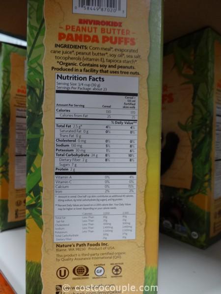 Nature S Path Organic Panda Puffs Cereal
