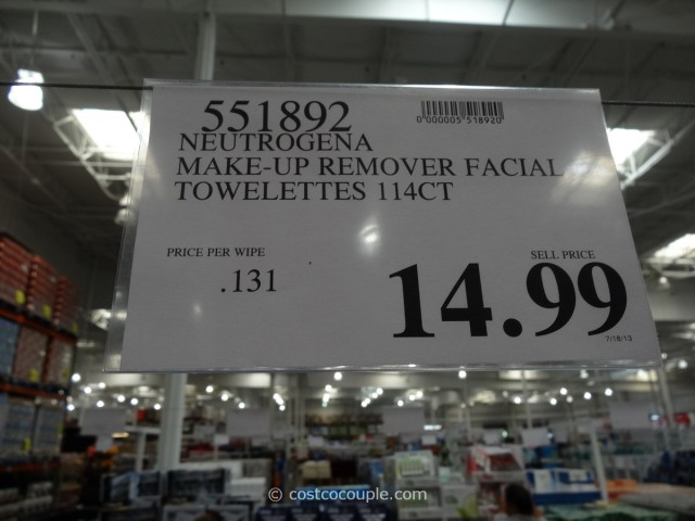 Neutrogena  Makeup Remover Cleansing Towelettes Costco 1