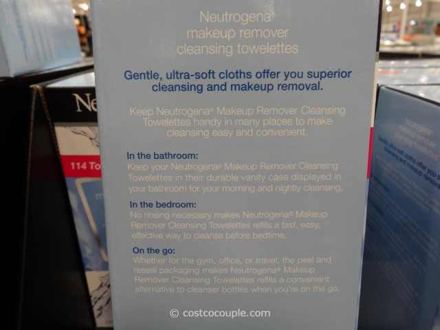 Neutrogena  Makeup Remover Cleansing Towelettes Costco 5