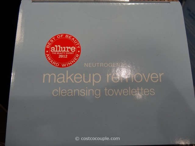Neutrogena  Makeup Remover Cleansing Towelettes Costco 6