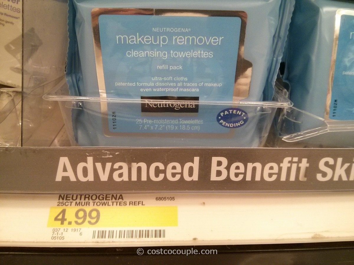 Neutrogena  Makeup Remover Cleansing Towelettes Target