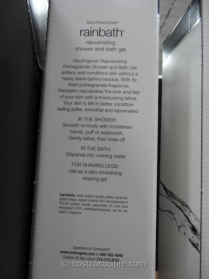 Neutrogena Rainbath Shower Gel Costco on Zero Gravity Chair Costco