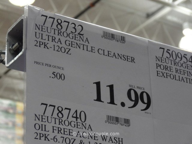 Neutrogena Ultra Gentle Cleanser Costco