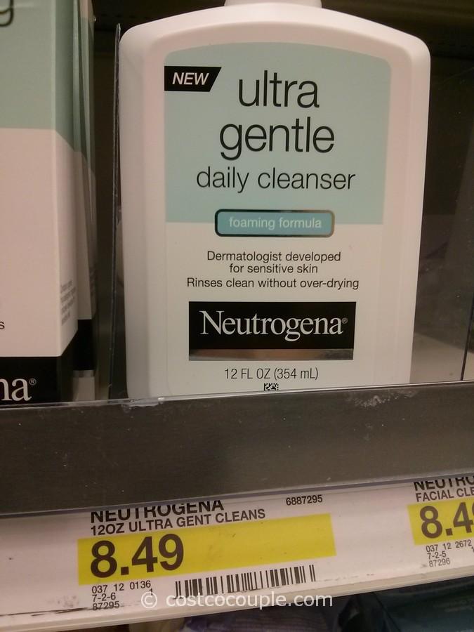 Neutrogena Ultra Gentle Cleanser Target