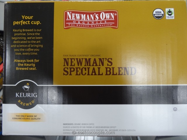 Newman's Organic Special Blend K-Cups Costco 3