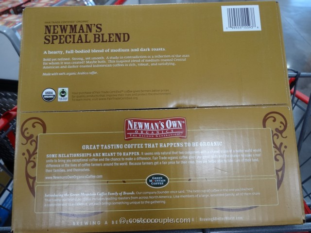 Newman's Organic Special Blend K-Cups Costco 4