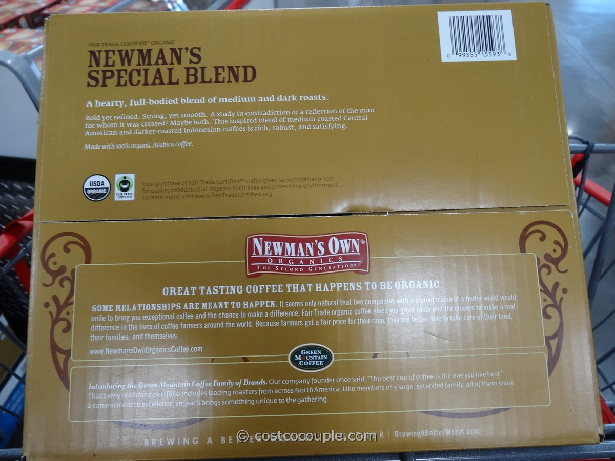 Newman S Organic Special Blend K Cups