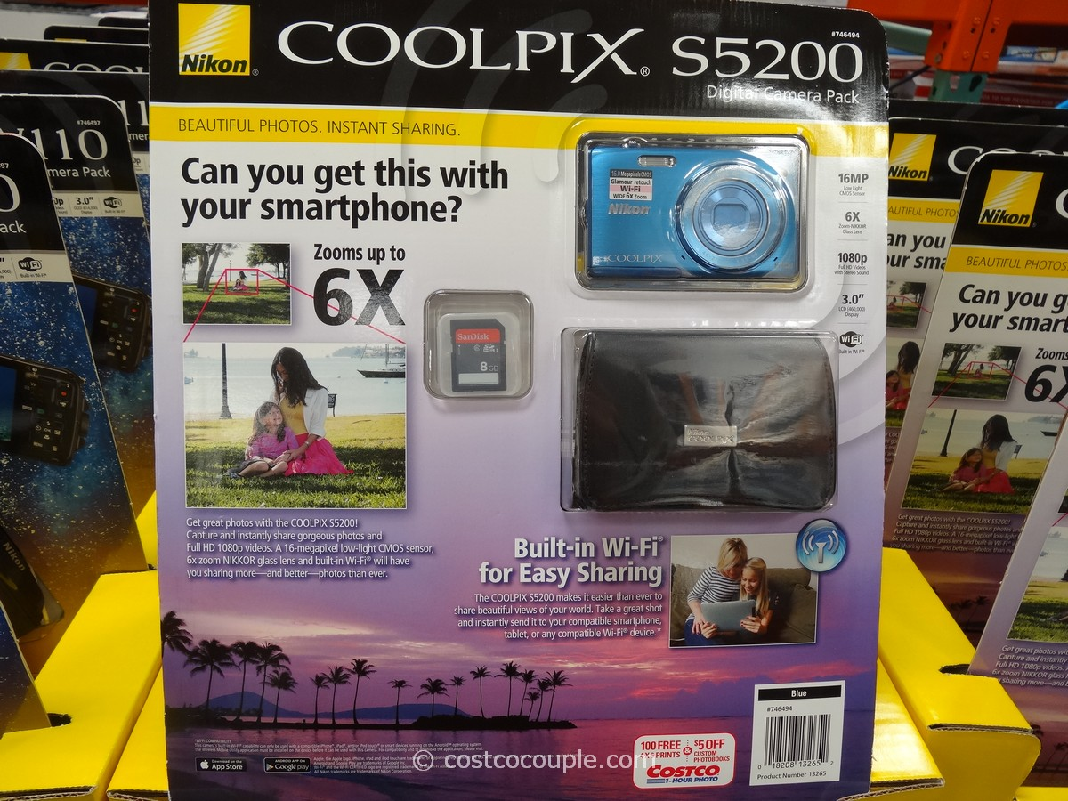 Nikon S5200 Camera Costco 2