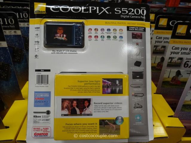 Nikon S5200 Camera Costco 3