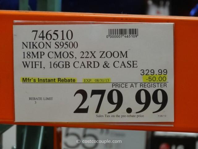 Nikon S9500 Costco 1