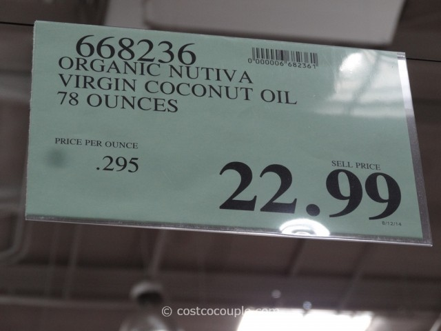 Nutiva Organic Virgin Coconut Oil Costco 1