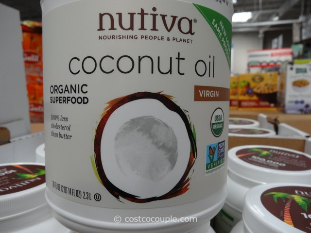 Nutiva Organic Virgin Coconut Oil Costco 2