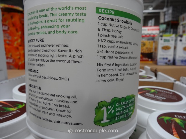 Nutiva Organic Virgin Coconut Oil Costco 5