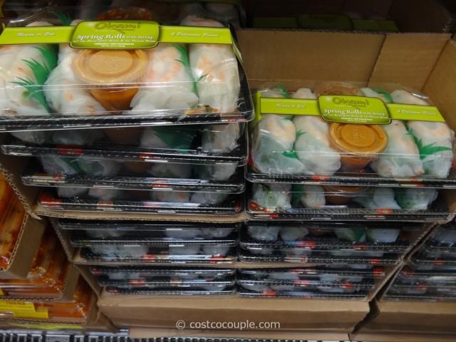 Okami Shrimp Spring Rolls Costco 2