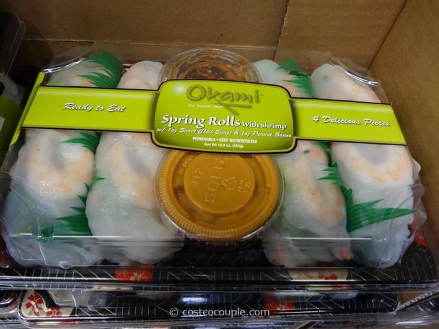 Okami Shrimp Spring Rolls Costco 3