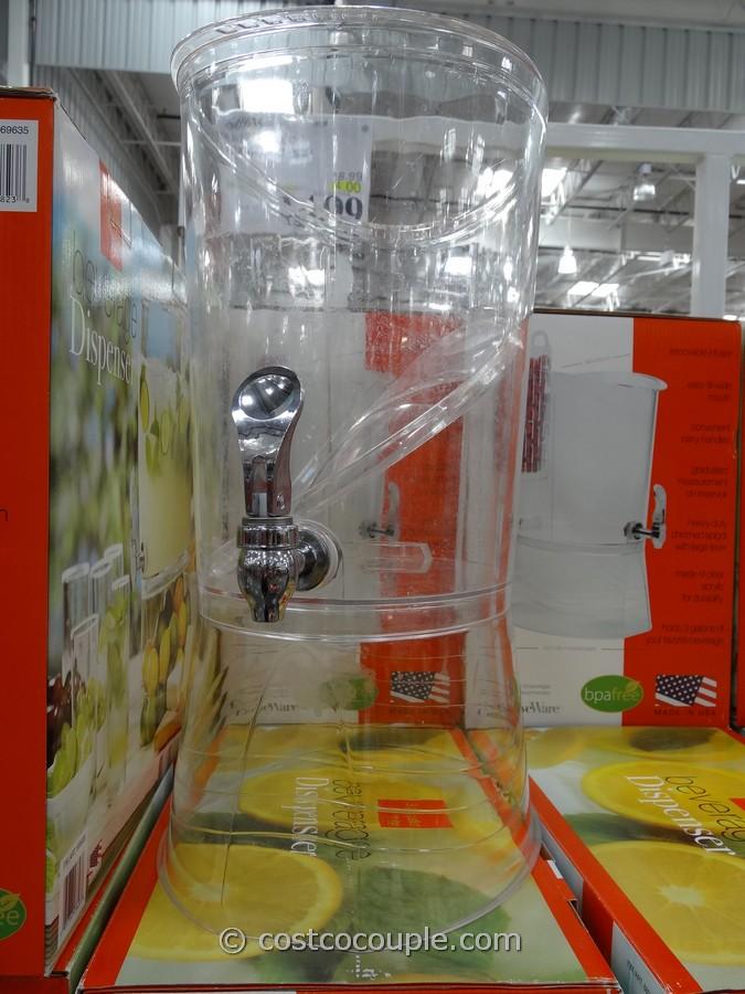 Oliver Acrylic Beverage Dispenser