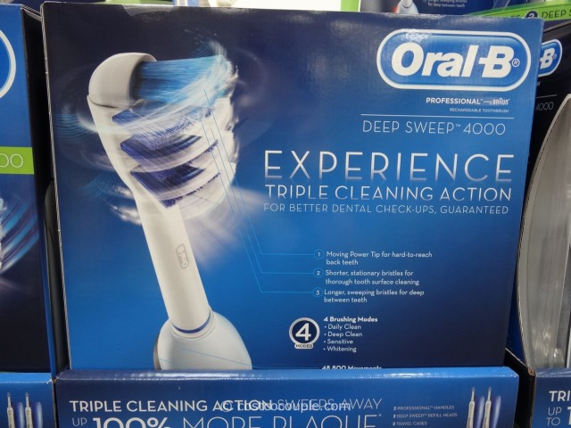 OralB Procare Deep Sweep Rechargeable Toothbrush Costco 2