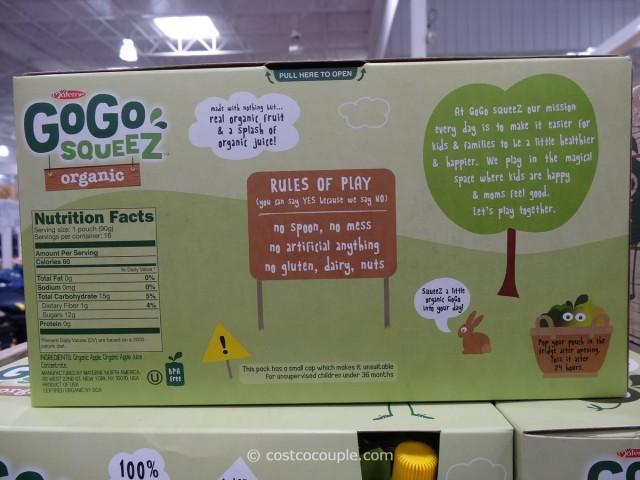 Organic Gogo Squeez Applesauce Costco 3