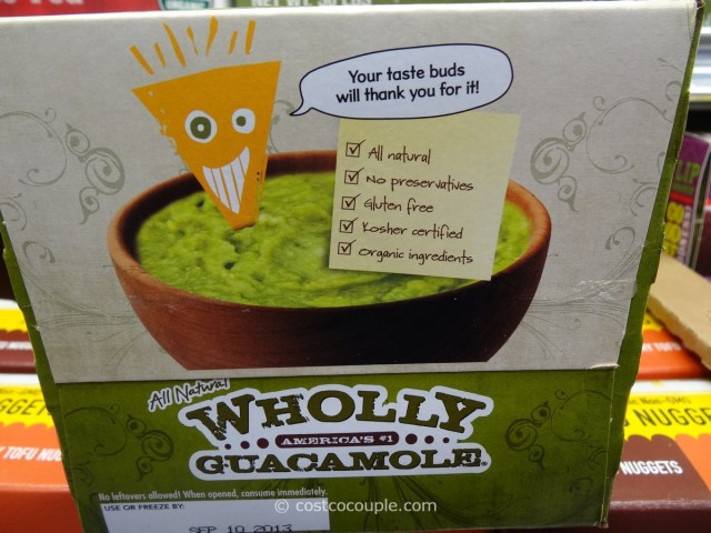 Organic Wholly Guacamole Costco 2