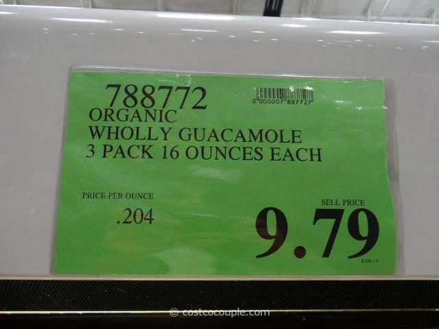 Organic Wholly Guacamole Costco 6