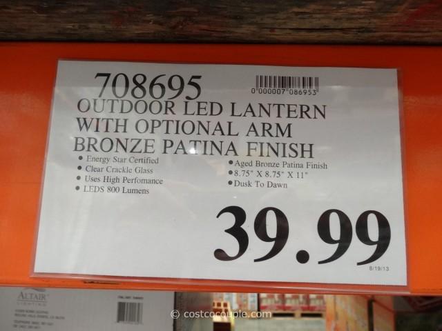 Outdoor LED Lantern Costco 5