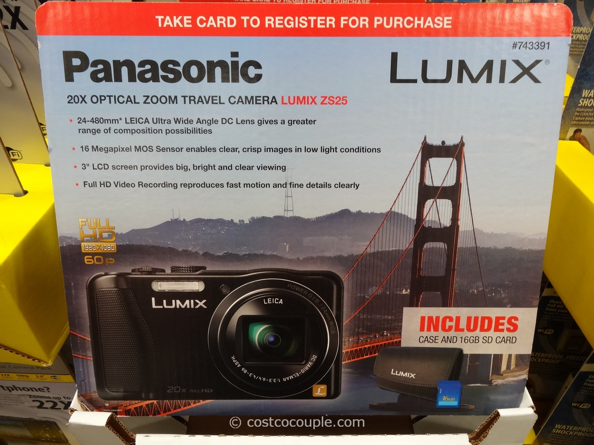 Panasonic ZS25 Costco 2