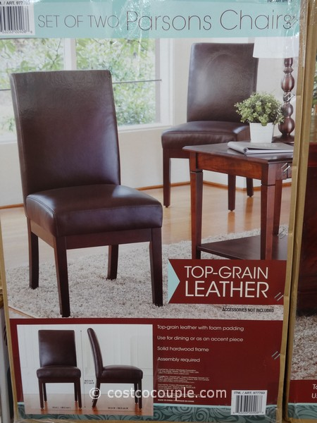 Parsons Chair 2 Pack Costco