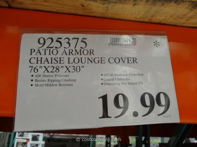Patio Armor Chaise Lounge Cover Costco 1