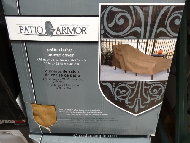 Patio Armor Chaise Lounge Cover