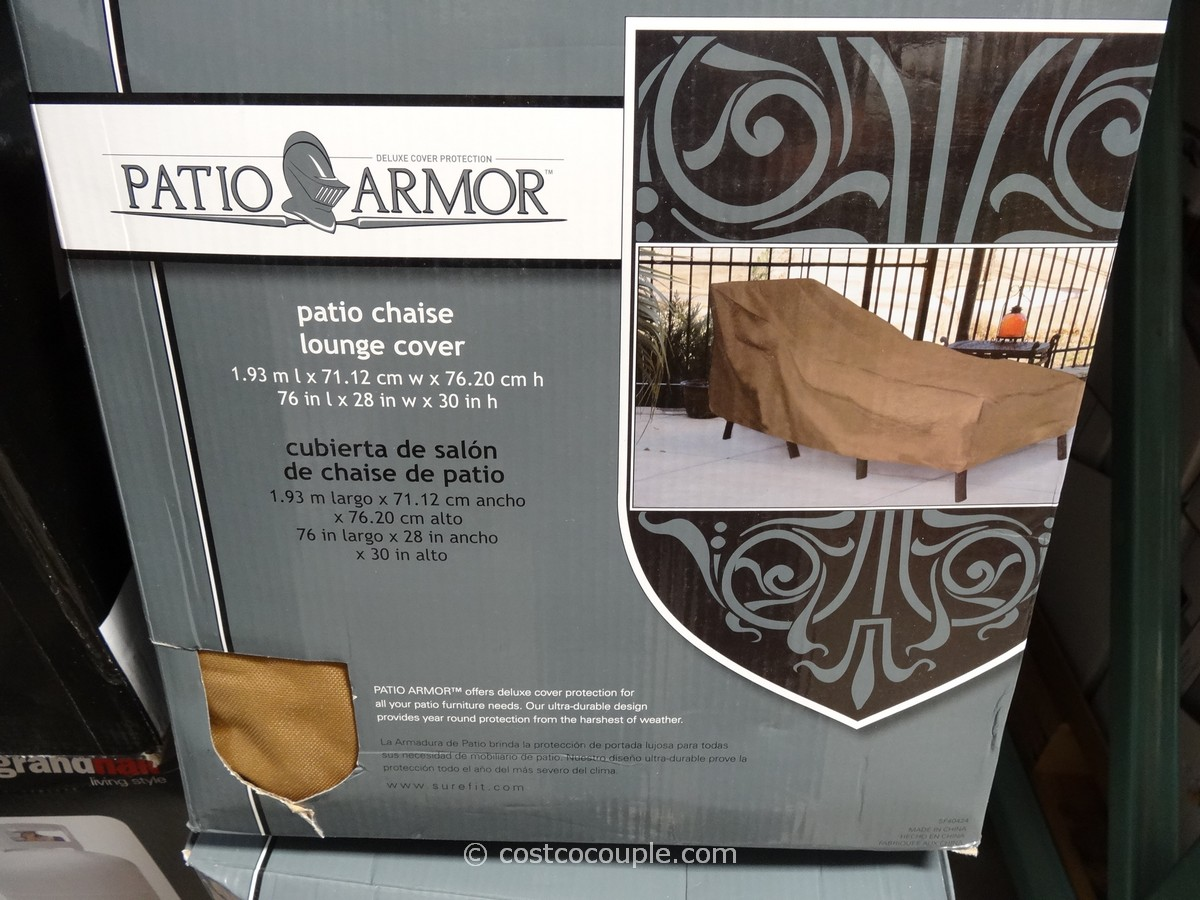 Patio Armor Chaise Lounge Cover Costco 2